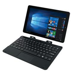 RCA  Cambio 2-in-1 Tablet with Detachable Keyboard - Black