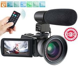 Camcorder 1080P Video Camera IR Night Vision Full HD With Ex