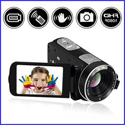 Camcorder Video Camera SEREE Full HD 1080P 24.0 MP Digital C