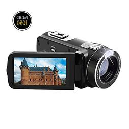 """Camcorder Video Camera Full HD 1080p @30fps Camcorders 3"""""""