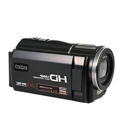 COMI Camcorder Full HD 1080P @30fps 24.0MP Digital Video Rec