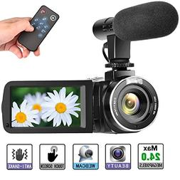 Camcorder Digital Video Camera Full HD 1080P 30FPS Vloggin