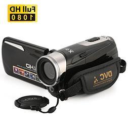Camcorder,Bekhic Infrared Night Vision Handy Camera HD 1080P