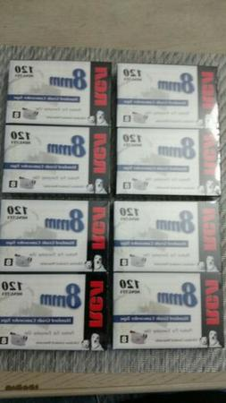 RCA Camcorder 8mm Tape 4 Twin Packs  120 min./tape -  New se