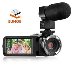 Camera Camcorder,Onshowy Remote Control Infrared Night Visio