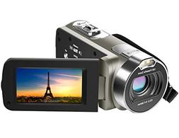 Camera Camcorder, Besteker 1080P Recorder 24M 16X HD Digital