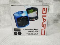 Craig Digital Camcorder With Camera HD 720P Dash Camera with