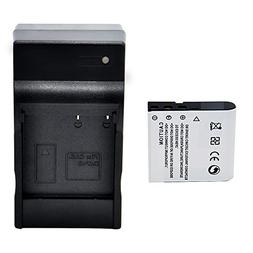 Camcorder Battery Chargerss 3.7V 1250mAh Rechargeable Extern