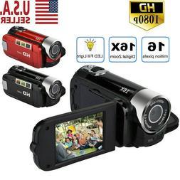 Camcorder Digital Video Camera 1080P HD TFT LCD 24MP 16x Zoo