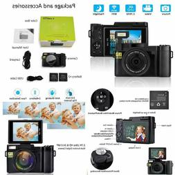 Digital Video Camcorder DIWUER Ultra HD WiFi Vlogging Camera