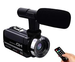 Camera Camcorder External Microphone Input Night Vision Full