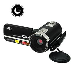 Camcorder Video Camera FHD 1080P IR Infrared Night Vision Di