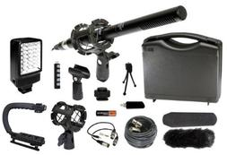 Professional Camcorder Video Camera Microphone Stabilizer LE