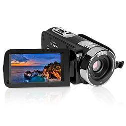 "PowerLead 2.7"" LCD Screen Digital Video Camcorder Night Visi"