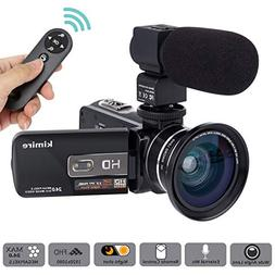 camcorder powerful zoom
