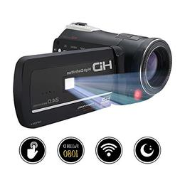 camcorder recorder fhd wifi connection