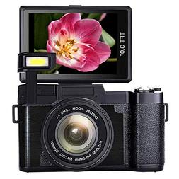 SEREE Camera Camcorder 1080p 24.0 Megapixels Digital Selfie