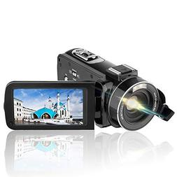 Video Camera Camcorder AiTechny HD 1080P 24.0MP Digital Came