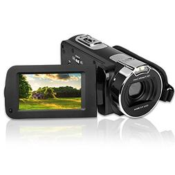 "KINGEAR PL002 2.7"" LCD Screen Digital Video Camcorder Night"