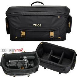 43747e5620 Editorial Pick Large Professional Camera Camcorder Shoulder Bag Padded For