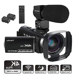 Video Camera Camcorder 4K Ultra HD VideoSky YouTube Vlogging
