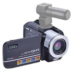 Camcorder Video Camera 24MP Digital Camera Full HD 1080p Vlo