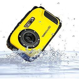 Webat 2.7 inches LCD Digital Camera 16MP Camcorder Waterproo