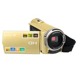 Camcorder, LAKASARA Wifi Camera HDMI 1920x1080P 30FPS Digita
