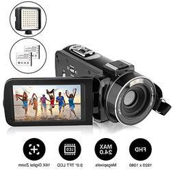 Camcorder, AiTechny Digital Video Camera Full HD 1080P 24.0M