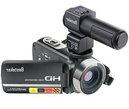 Camera Camcorders, Besteker FHD 1080P IR 24MP 16X Digital Zo