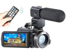 Camera Camcorder Besteker Remote Control WiFi Video With Ext