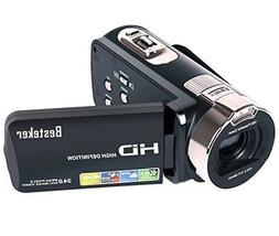 Camera Camcorders Besteker HD 1080P 24 MP 16X Digital Zoom V