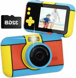 Camera Children Digital Cameras 1080p HD Camcorder Toy Video