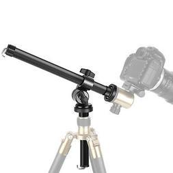 Camera Tripod Boom Arm: External Multi-Angle Center Column E