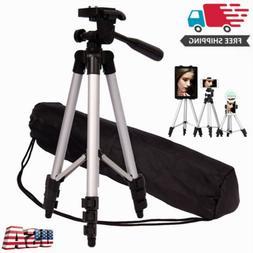 Camera Tripod Stand Adjustable Professional Mount Holder For