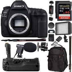 Canon EOS 5D Mark IV DSLR Camera Body + 5D IV Camera Grip +