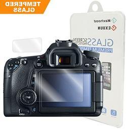 Canon EOS 80D / 70D Tempered Glass Screen Protector, Poyicco