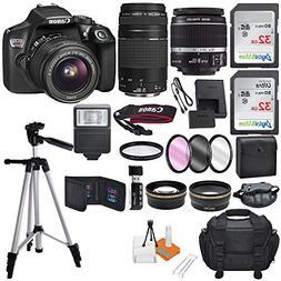Canon EOS Rebel T6 18MP Wi-Fi DSLR Camera w/18-55mm IS II Le