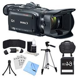Canon VIXIA HF G40 Camcorder, 64GB Card, and Accessories Bun