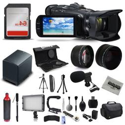 Canon VIXIA HF G40 Full HD Camcorder Mic Extra Battery 64GB