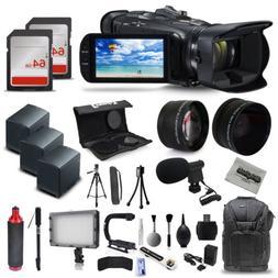 Canon VIXIA HF G40 Full HD Camcorder Mic 3x Batteries 128GB