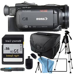 Canon VIXIA HF G40 HFG40 with Tripod, 32GB SD Class 10 Memor