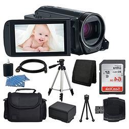 Canon VIXIA HF R700 Full HD Camcorder  + 64GB SDHC Memory Ca