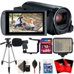Canon Vixia HF R800 1080p HD Video Camera Camcorder Black wi