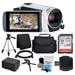 Canon VIXIA HF R800 Camcorder  + SanDisk 64GB Memory Card +