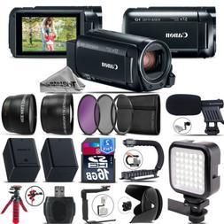 Canon VIXIA HF R800 Camcorder  + 0.43X Wide Angle Lens + 2.2