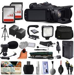 Canon XA20 Professional Camcorder Video Camera + 128GB Board