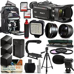 Canon XA30 HD Professional Video Camcorder + Tripod + Monopo