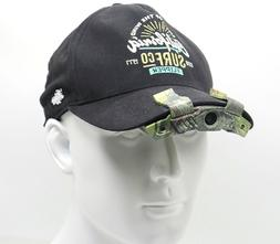 Cap Hat Brim Clip Camera Video Recording for Hunting Miltary