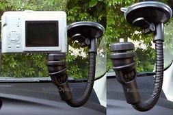 """CAR 11"""" WINDSHIELD FLEXIBLE SUCTION CUP MOUNT FOR CAMERA VID"""